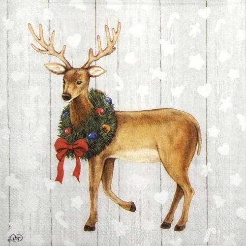 "Lunch Napkins (20) - Whimsical ""Deer"""