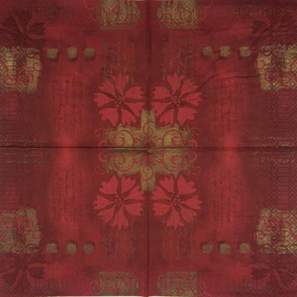 Paper Napkin - Salento Bordeaux