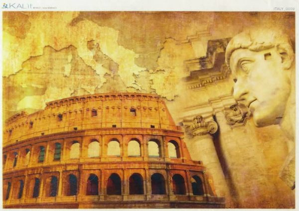 Rice Paper - Italy Colosseum