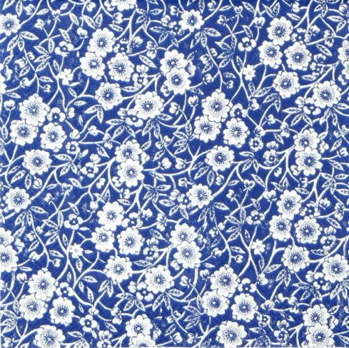 Paper Napkin - Calico Blue