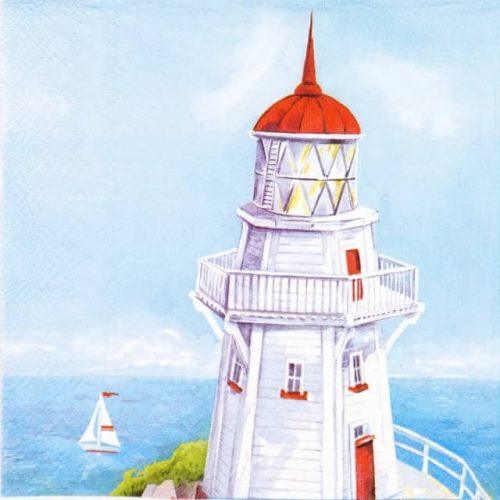 Paper Napkin - Waterside Lighthouse