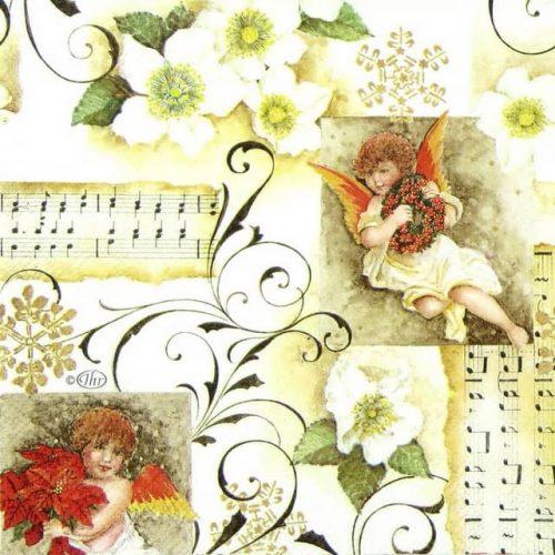 Paper Napkin - Angelic Chorus
