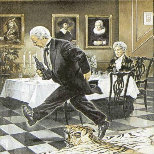 Paper Napkin - The 90th birthday