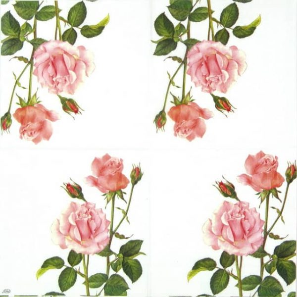 Paper Napkin - Rose for You