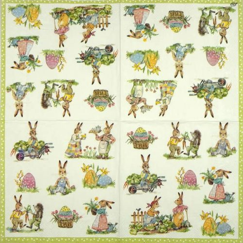Paper Napkin - Stories of Bunnies cream
