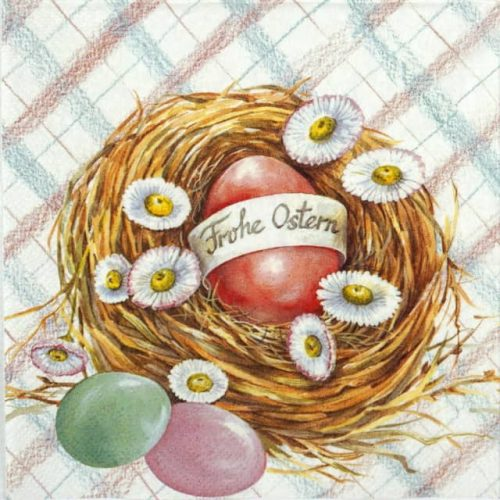 Paper Napkin - Happy Easter