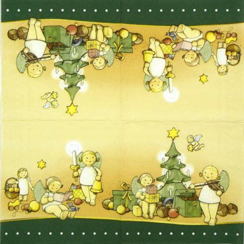 Paper Napkin - Christmas Eve