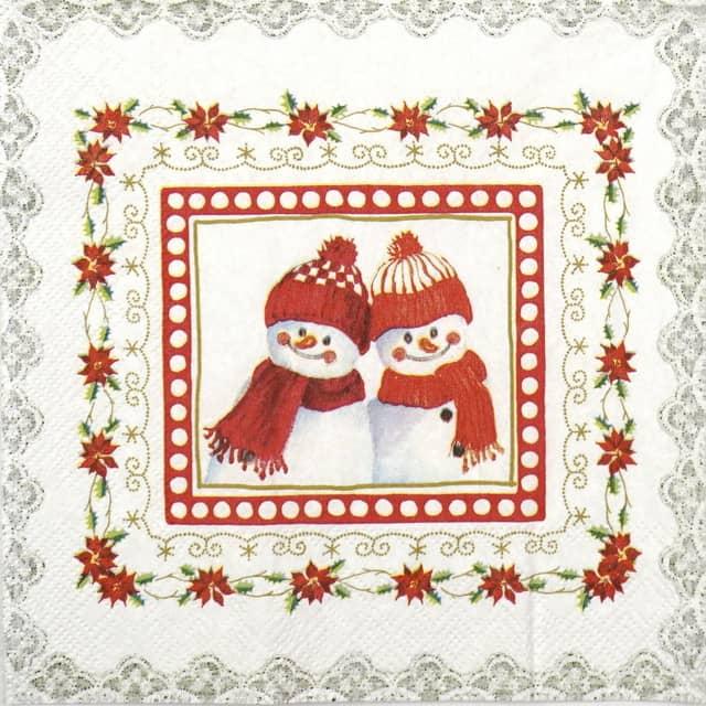 Paper Napkin - Lovely Little Fellows