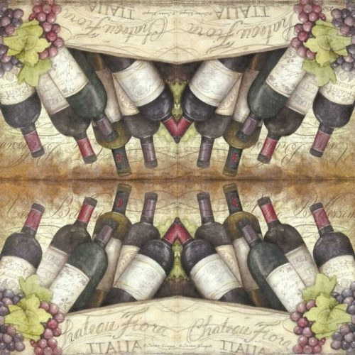 Paper Napkin - Vino bellissimo
