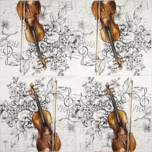 Paper Napkin - Bella musica