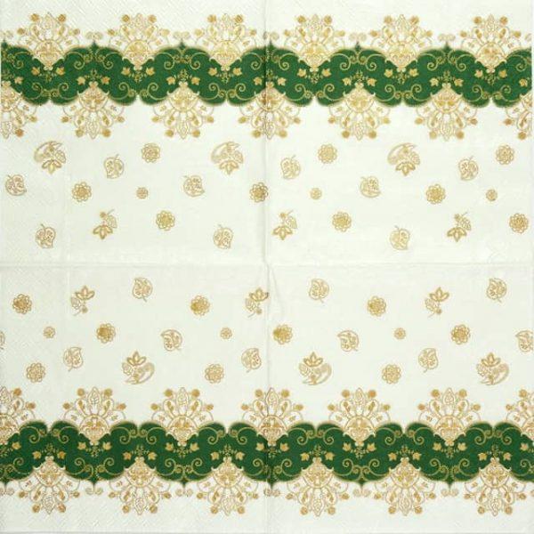 Paper Napkin - Acantha Green