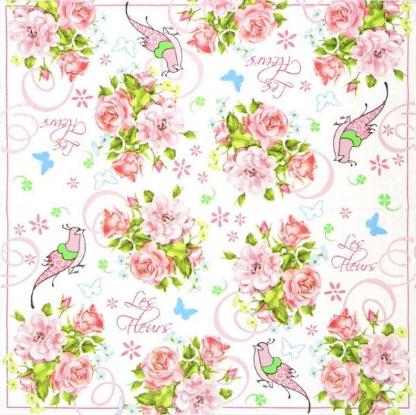 Paper Napkin - Mini Bouquets