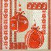 Paper Napkin - Knitting X-mass