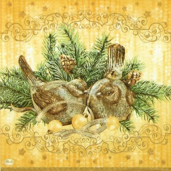 Lunch Napkins (20) - Ornaments Bird