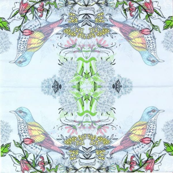 Paper Napkin - Forest Bird