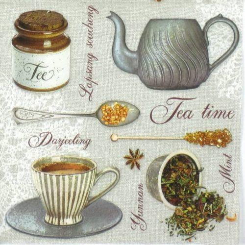 Lunch Napkins (20) - Tea Flavours