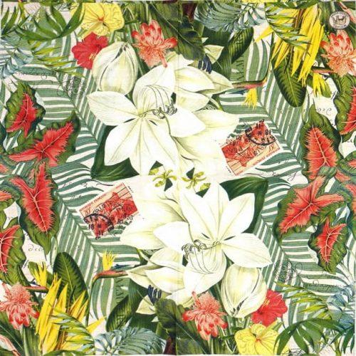 Paper Napkin - Vanilla Palm