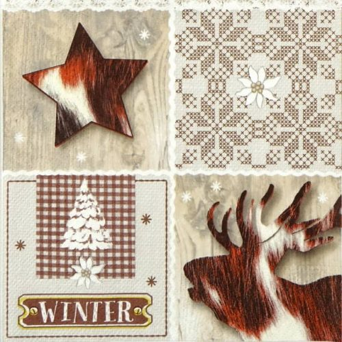 Lunch Napkins (20) - Wintertime
