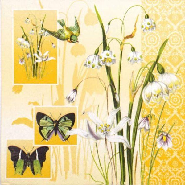 Paper Napkin - Herald of Spring