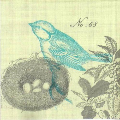 Paper Napkin - Piedmont Bird