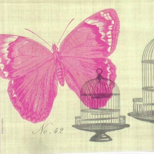 Paper Napkin - Piedmont Papillon