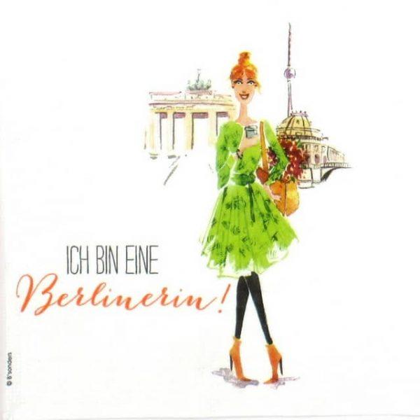 Paper Napkin - B'Sonders: Berlin Fashion