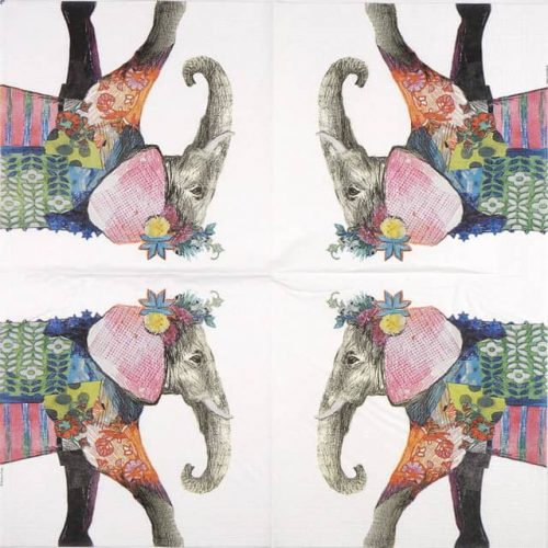 Paper Napkin - Emma Gale: Regalia Elephant