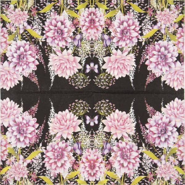 Lunch Napkins (20) - Flower Beat