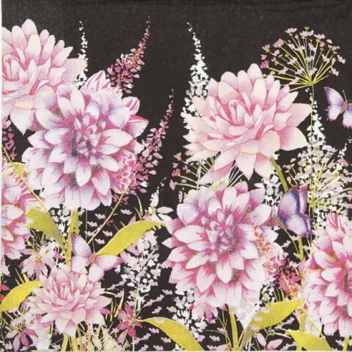 Lunch Napkins (20) - Flower Beat