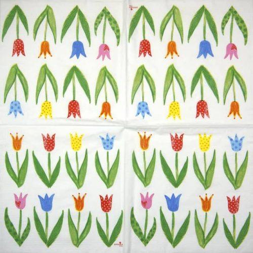 Paper Napkin - Anneko Design: Anne's Tulips