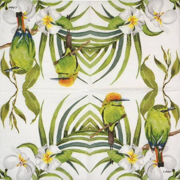 Paper Napkin - Carola Pabs: Bali