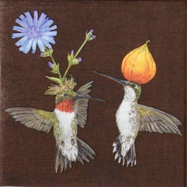 Paper Napkin - Vicki Sawyer: Doug & Cheryl