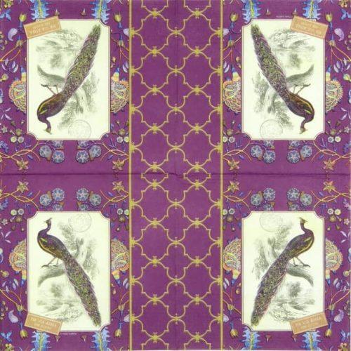 Paper Napkin - Jaipur Peacock