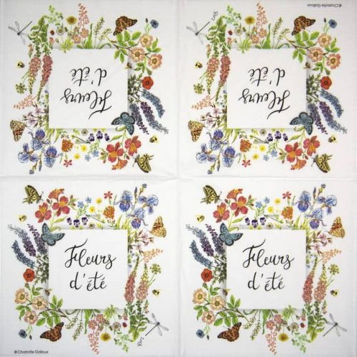 Paper Napkin - Charlotte Galloux: Nature d' été