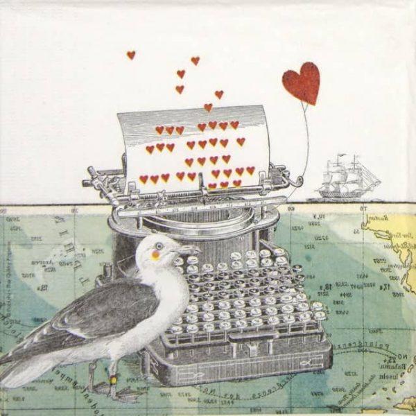 Paper Napkin - Pabuku: Just Love You
