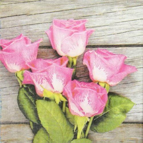 Paper Napkin - Royal Roses