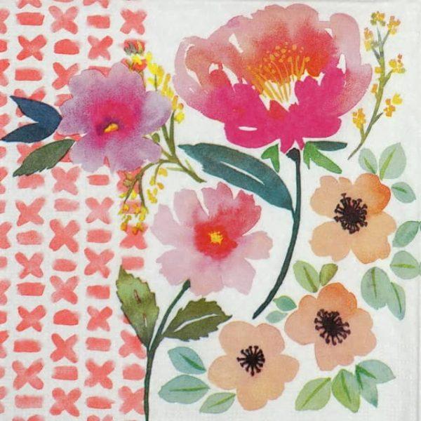 Paper Napkin - Jennifer Brinley: Spring Blooms