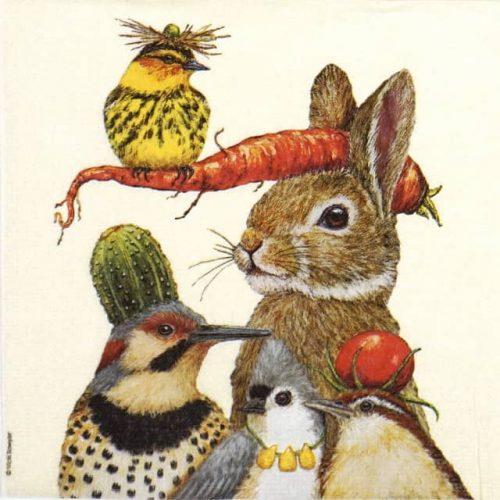 Paper Napkin - Vicki Sawyer: Harvest Party