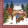 Lunch Napkins (20) -  Winter Markt