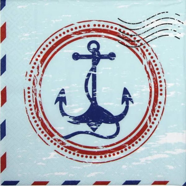 Lunch Napkins (20) - Anchor