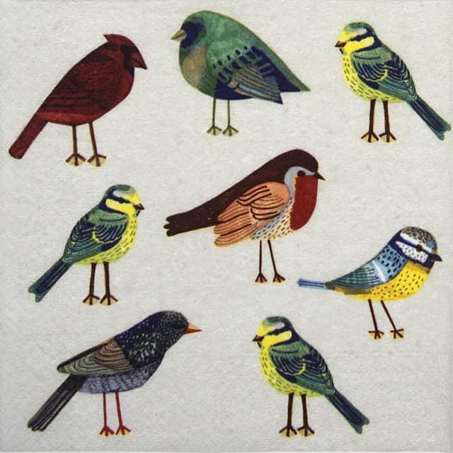 Paper Napkin - Birds