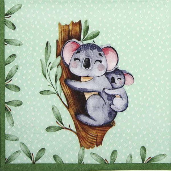 Paper Napkin - Koalas