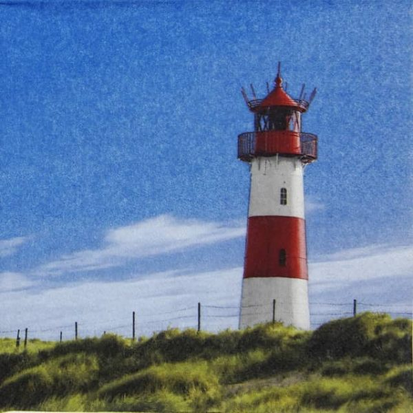 Paper Napkin - Lighthouse