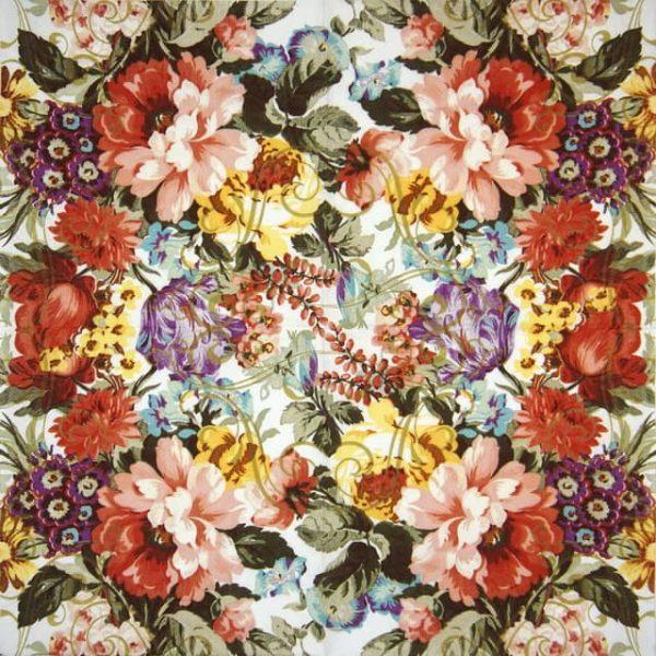 Paper Napkin - Ornate florals