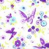 Paper Napkin - Purple Butterfly