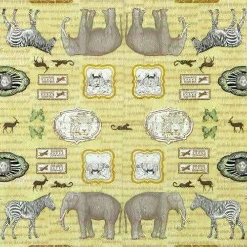 Paper Napkin - Savanna