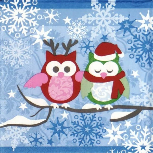 Lunch Napkins (20) - Snowy Owls