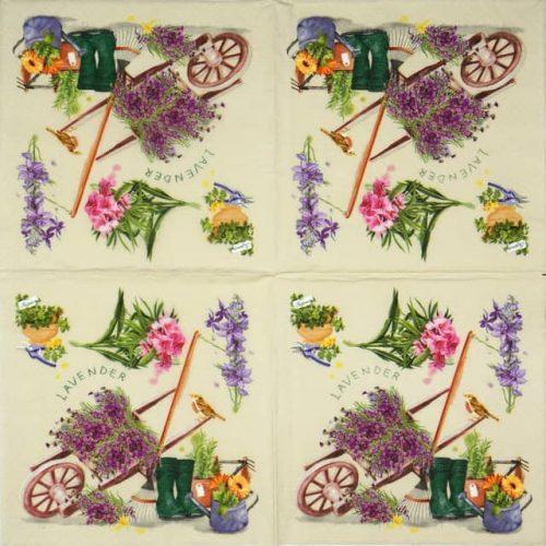Paper Napkin - Enjoy Garden