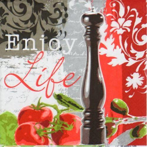 Paper Napkin - Enjoy life