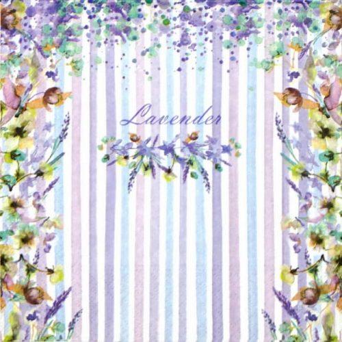 Lunch Napkins (20) - Lavender